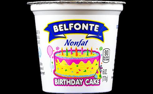 Birthday Cake Nonfat Yogurt