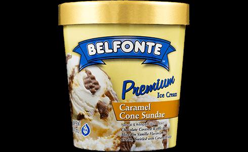 Caramel Cone Sundae