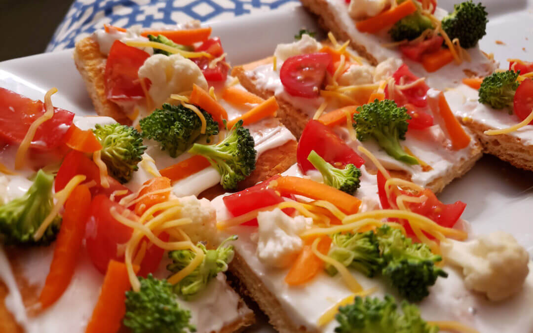 Veggie Delight Pizzas